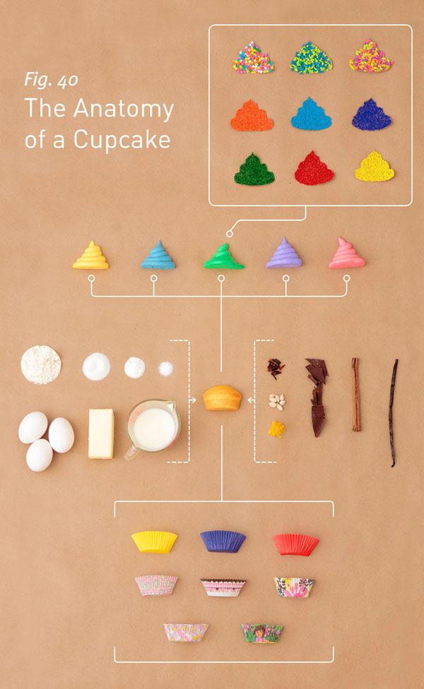 اینفوگرافیک کاپ کیک