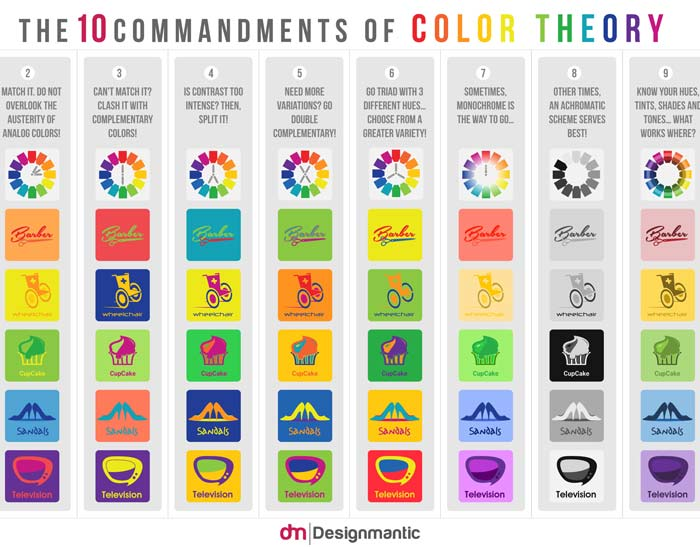Color-Theory-infographics