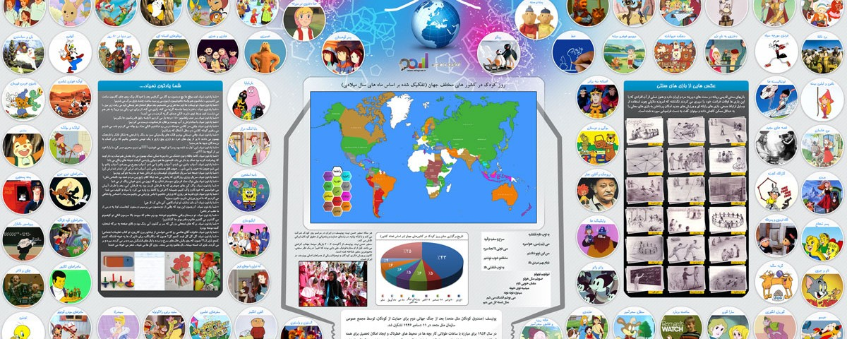 اینفوگرافی روز جهانی کودک